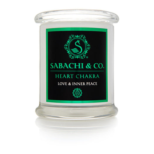 Sabachi & Co Heart Chakra Collection Handmade Soy Candle