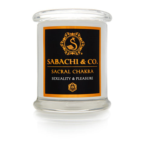 Sabachi & Co Sacral Chakra Collection Handmade Soy Candle