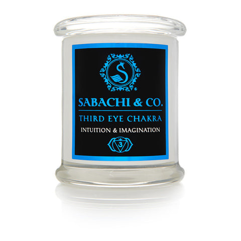 Sabachi & Co Base Third Eye Collection Handmade Soy Candle