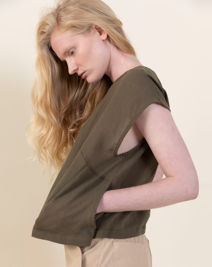 Myōkō Light Shirt | Olive