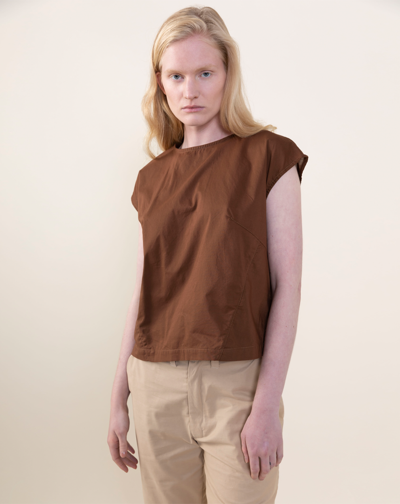 Myōkō Light Shirt | Brown