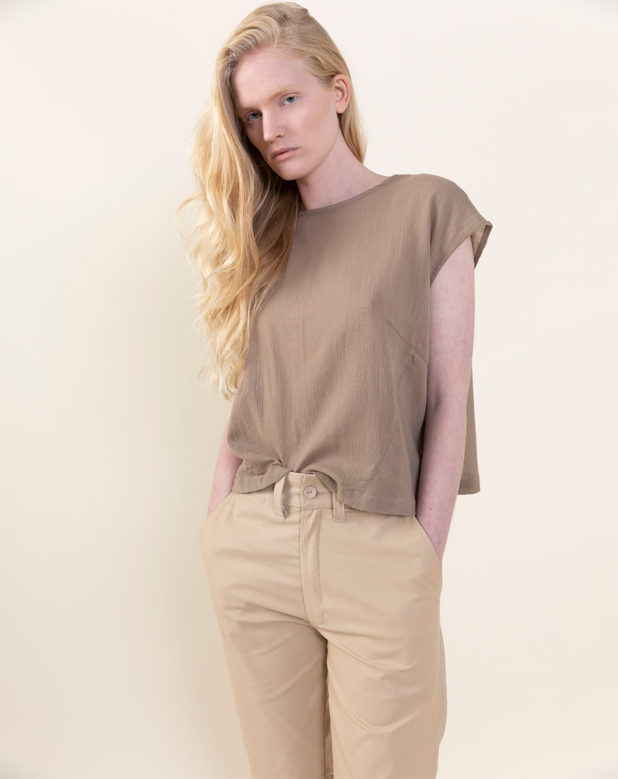Myōkō Light Shirt | Tan