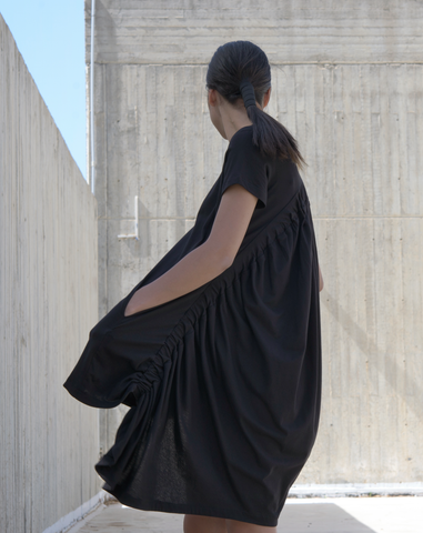 Arcuate Dress | Black