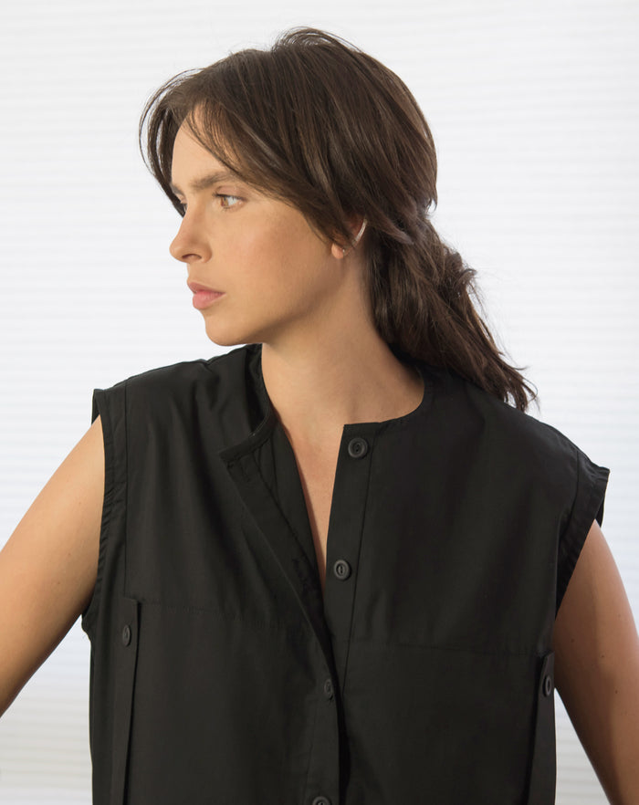 Limestone Blouse | Black