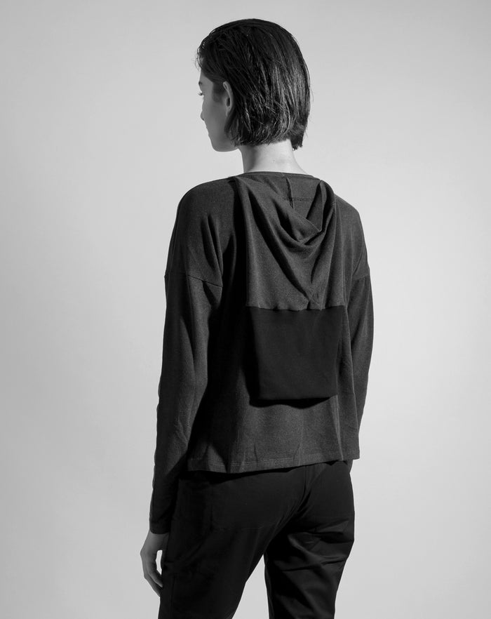 The 'Back Sleeve' Shirt | Washed Black