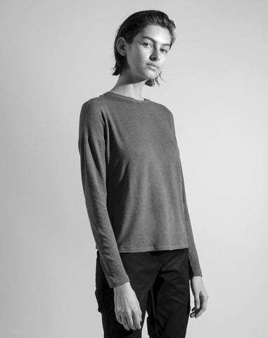 The 'Back Sleeve' Shirt | Washed Grey