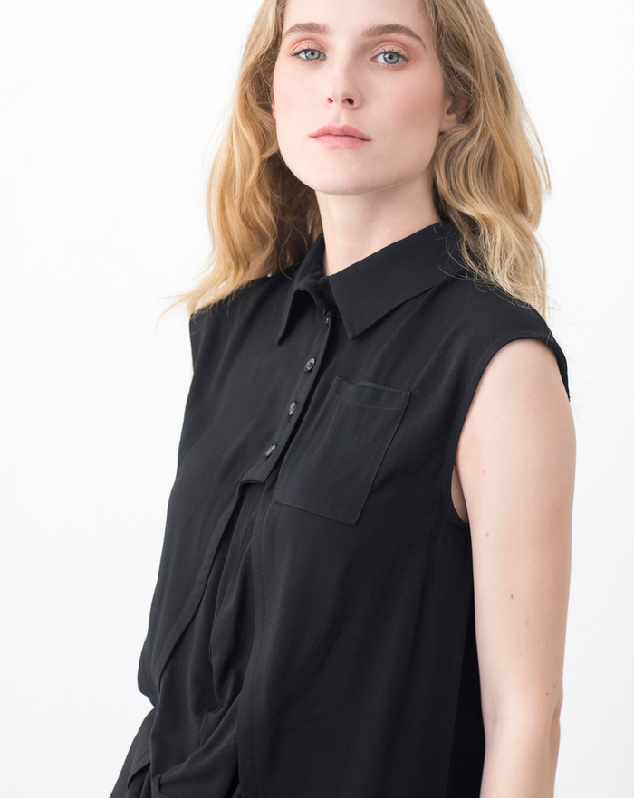 Caldera Blouse | Black