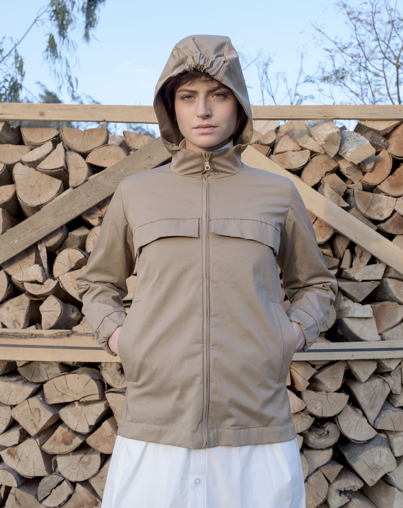 Clap Jacket | Brown