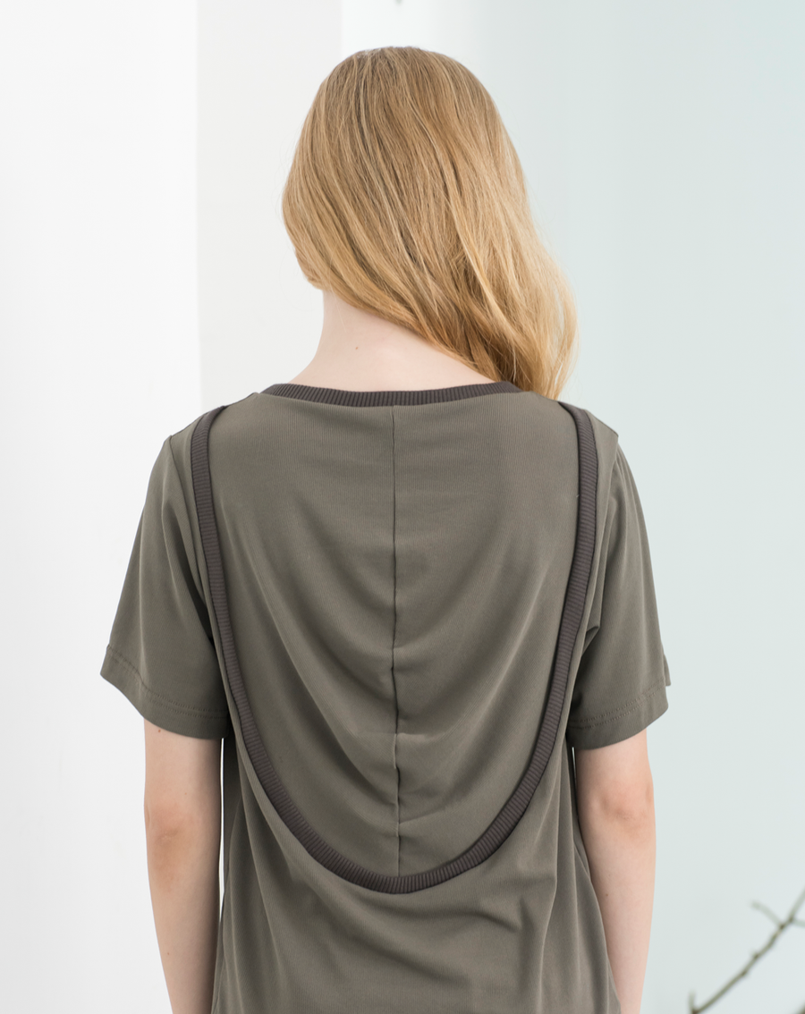 Crater Shirt | Warm Grey