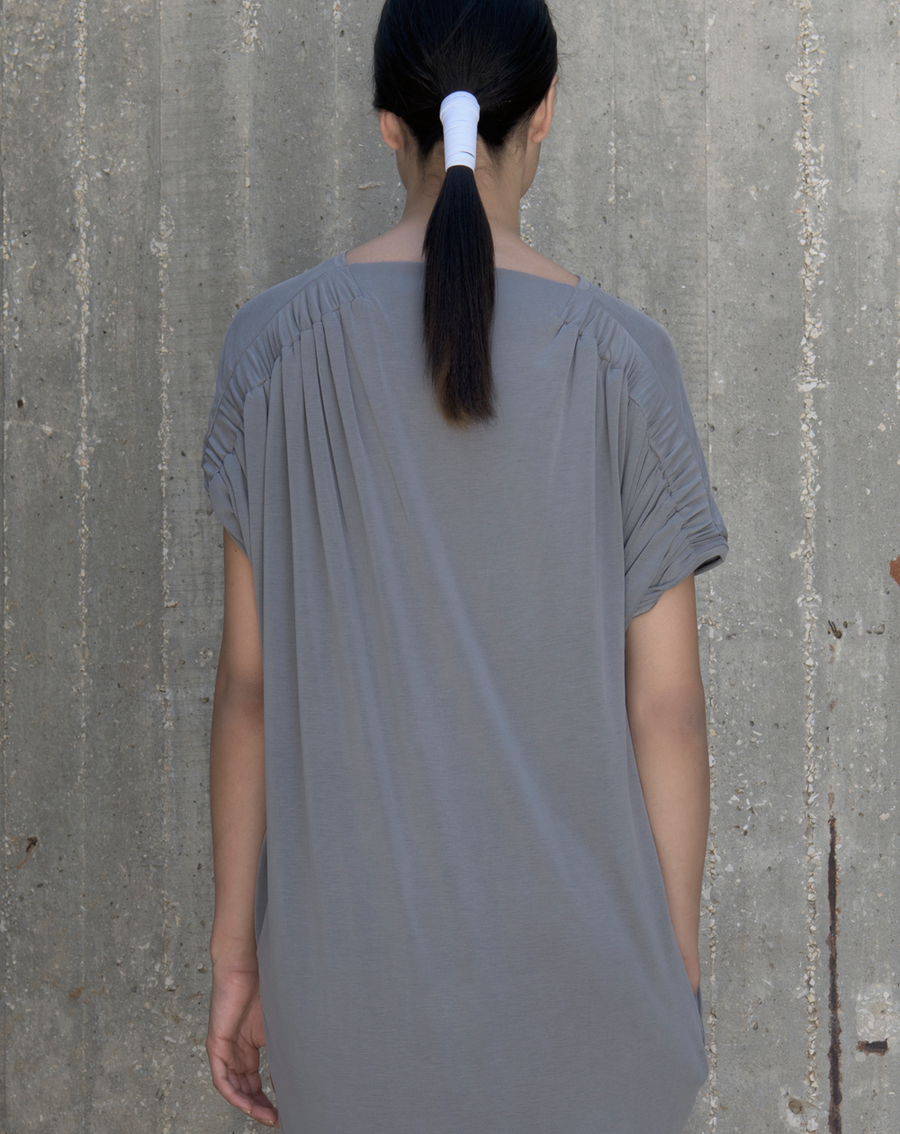 Drift dress | Bright Grey