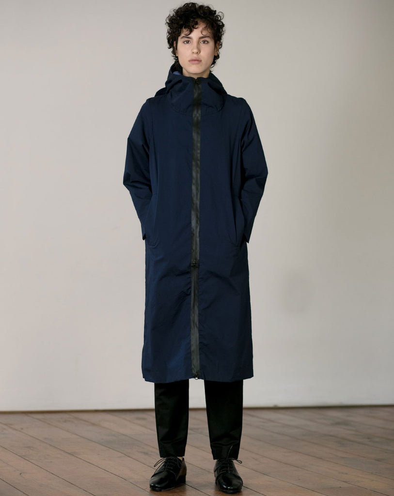 Long Coat | Blue