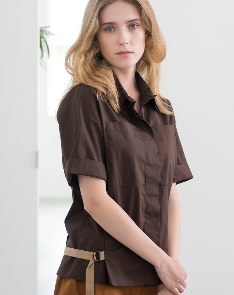 Monocline Blouse | Brown