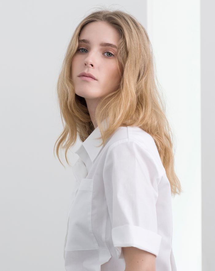 Monocline Blouse | White