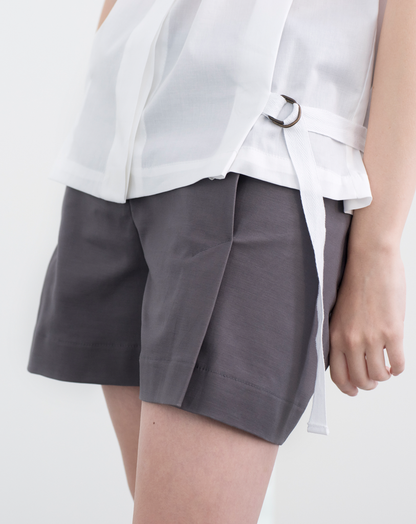 Richter Shorts | Bright Grey