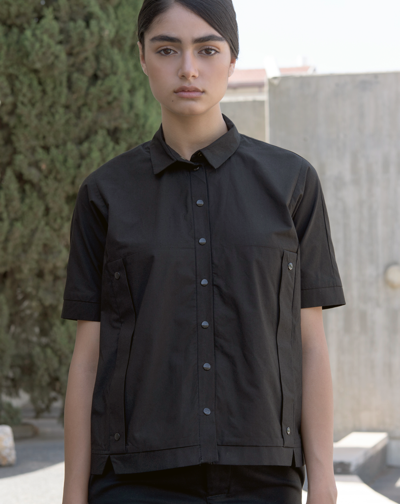 Squarish Blouse | Black