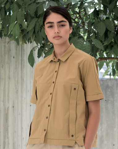 Squarish Blouse | Ochre