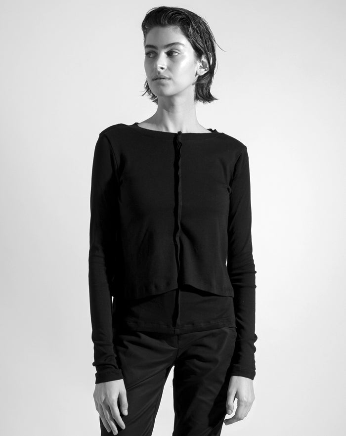 The Black 'Strata' shirt
