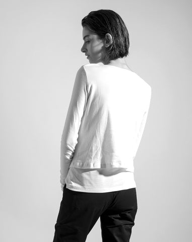 The Cream White 'Strata' shirt