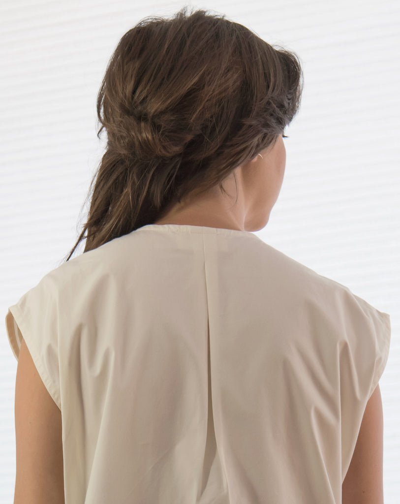 Limestone Blouse | Warm White