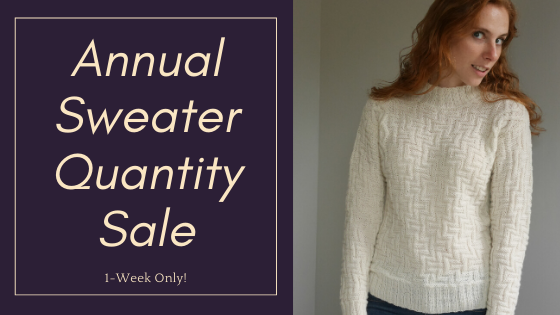 2020 Annual Sweater [Quantity] Sale