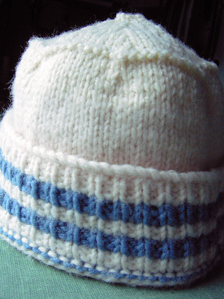 Four Way, Two Needle Hat