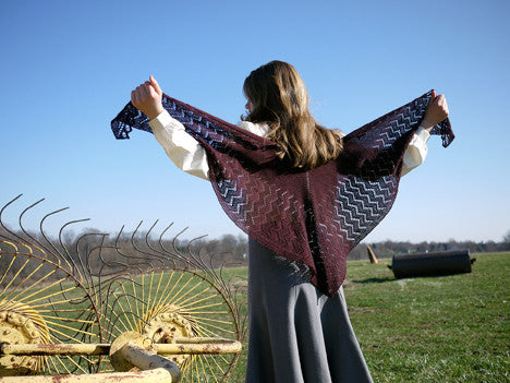 Crooked Walking Shawl