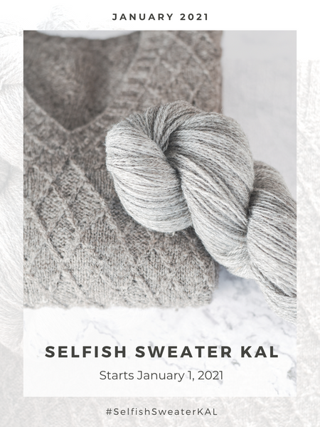 Selfish Sweater KAL - January 2021