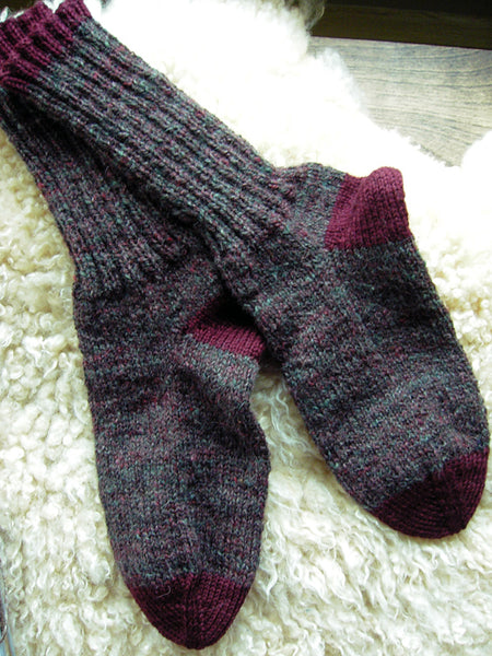The Sock Pattern to End All Sock Patterns