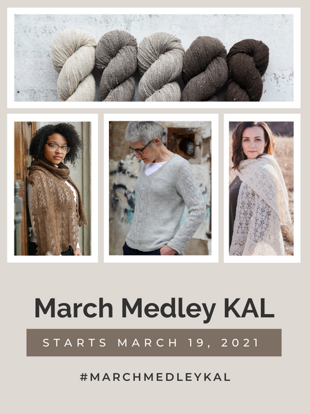 March Medley KAL - March 2021