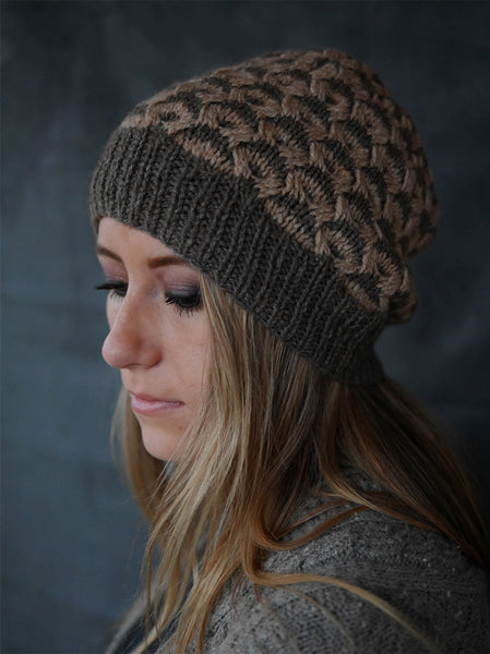 On the Dot Hat and Cowl by Elena Nodel