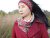 Escher Angles Headband & Cowl by Mary O'Shea