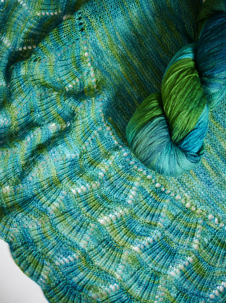 Tongass Creek Shawl Kit