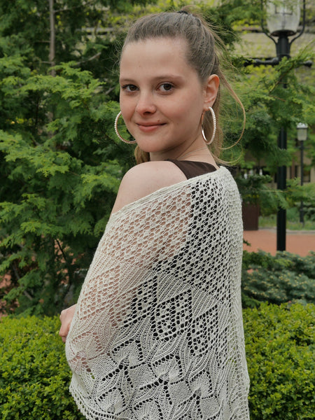 Harrier Lace Shawl