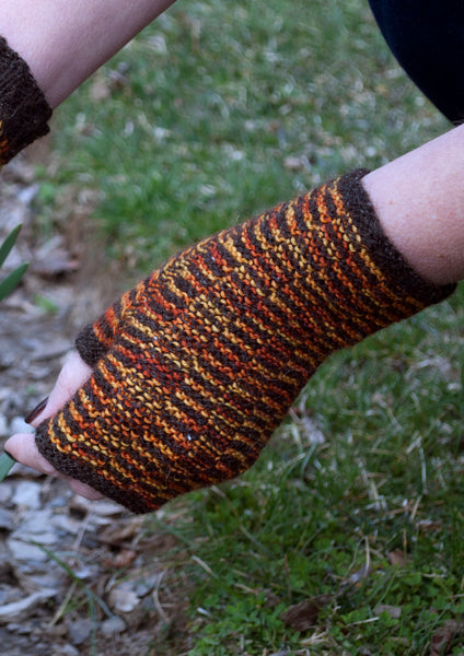 Sweet Tweed Mitts