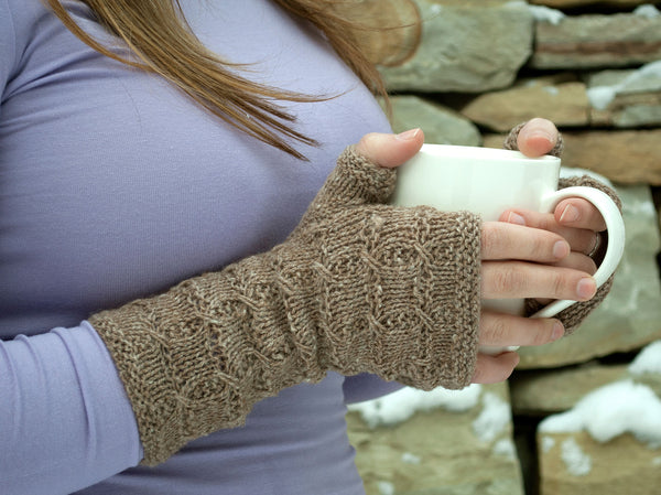 Sunday Toast Mitts by Nadya Stallings