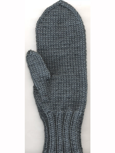 Two-Needle Mittens-Adult