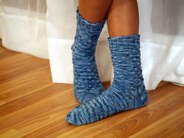Basketweave Sock