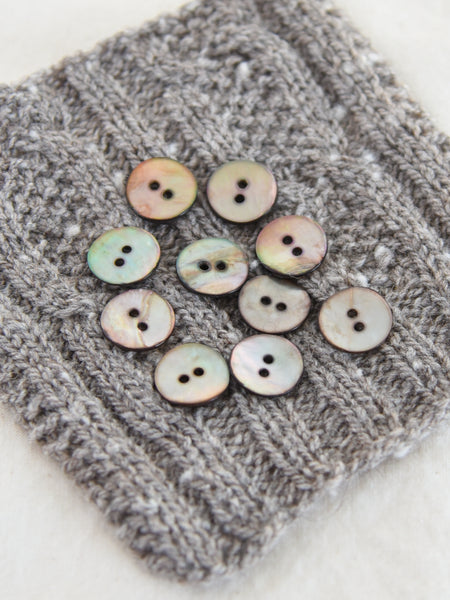 Brown Agoya Shell Buttons