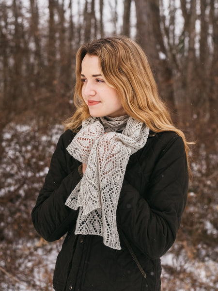 Caladium Scarf or Stole Kit