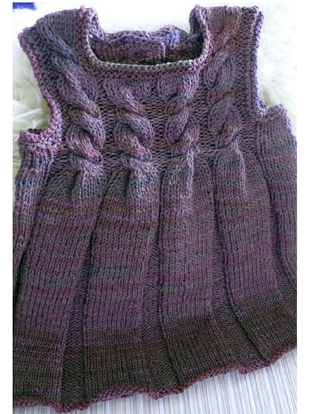 Child's Cabled Dress