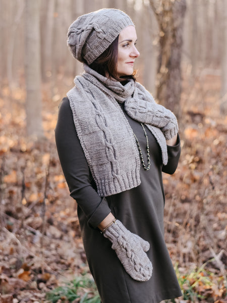Checkered Path Scarf