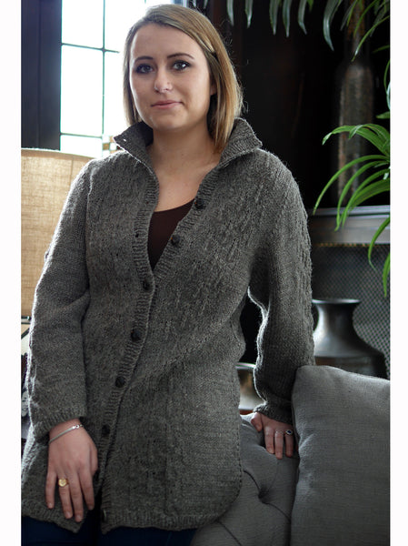 Embossed Cardigan by Susanna IC