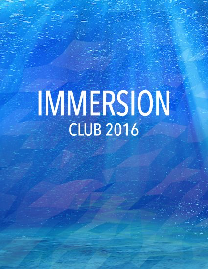 Immersion 2016 eBook