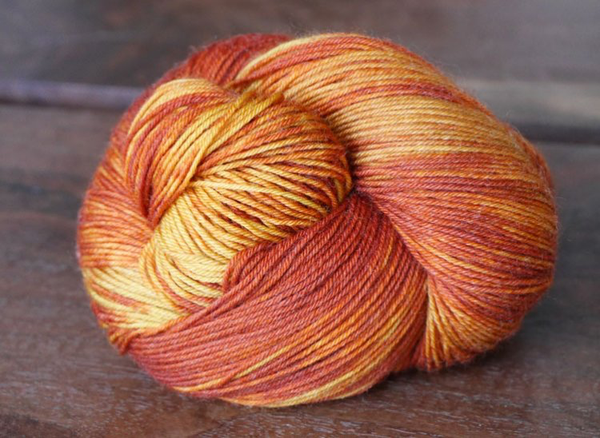 Lorna Laces Shepherd Sock Sweet Potato Pone