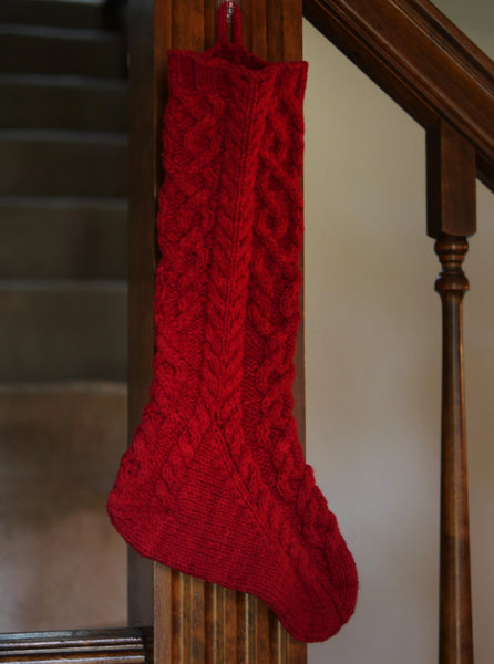 Inishmore Stocking by Anne Hanson