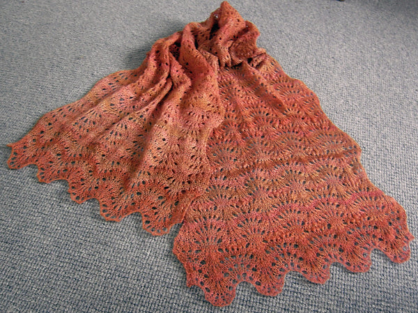 Ostrich Plumes Stole or Scarf