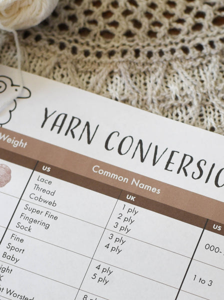 Yarn Conversion
