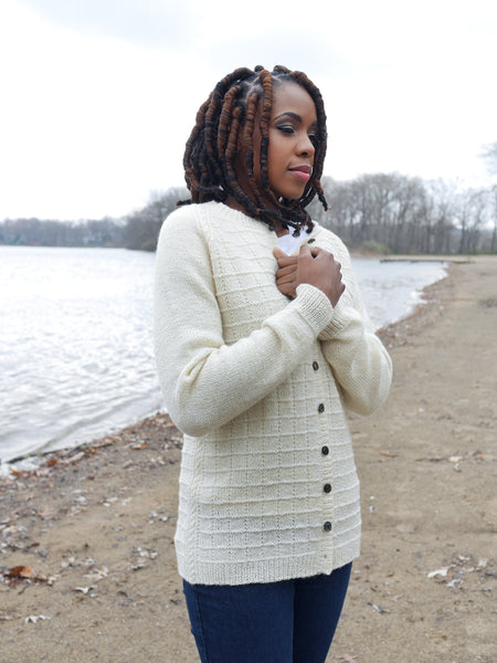 Sea Fret Cardigan Kit