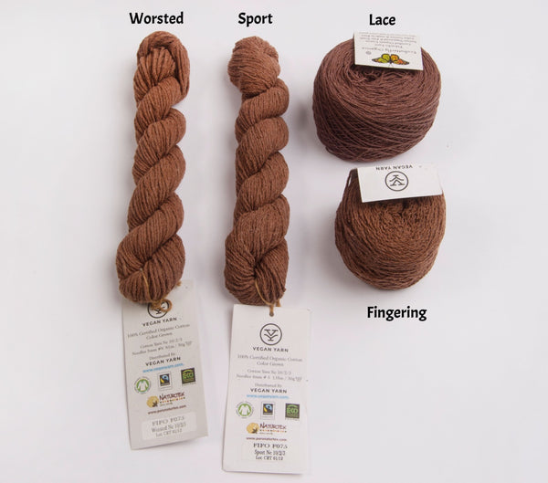 Vegan Yarn FIFO Pakucho Cotton
