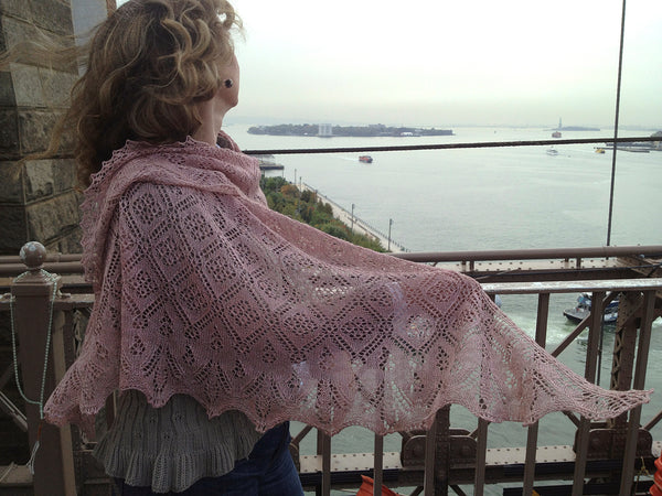 Wasp and Rose Lace Shawl